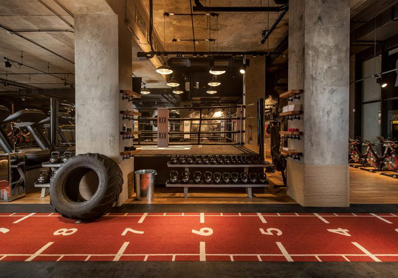 4636b2ceaceb5 Boutique gyms  recent installation at Virgin Active Twickenham takes boxing  and innovative fitness to the next level with the introduction of 18  formidable ...