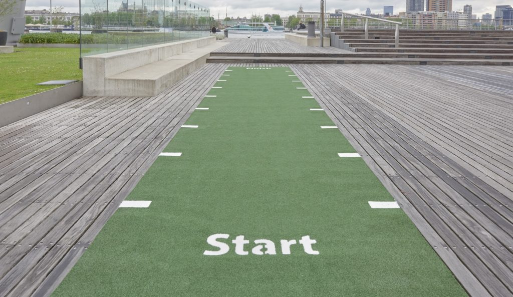 Sprint Track - Green | Boutique Gyms
