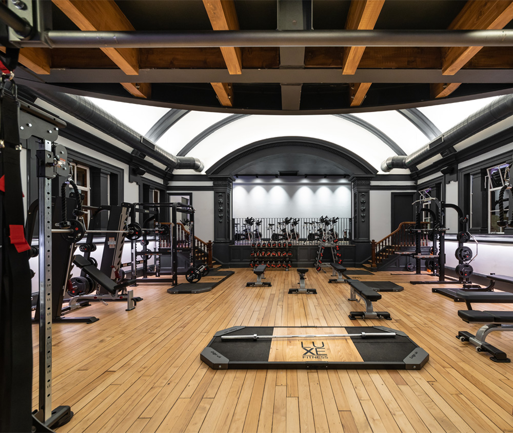 Gym Interior Fitness Design And: Luxe Fitness, Bristol